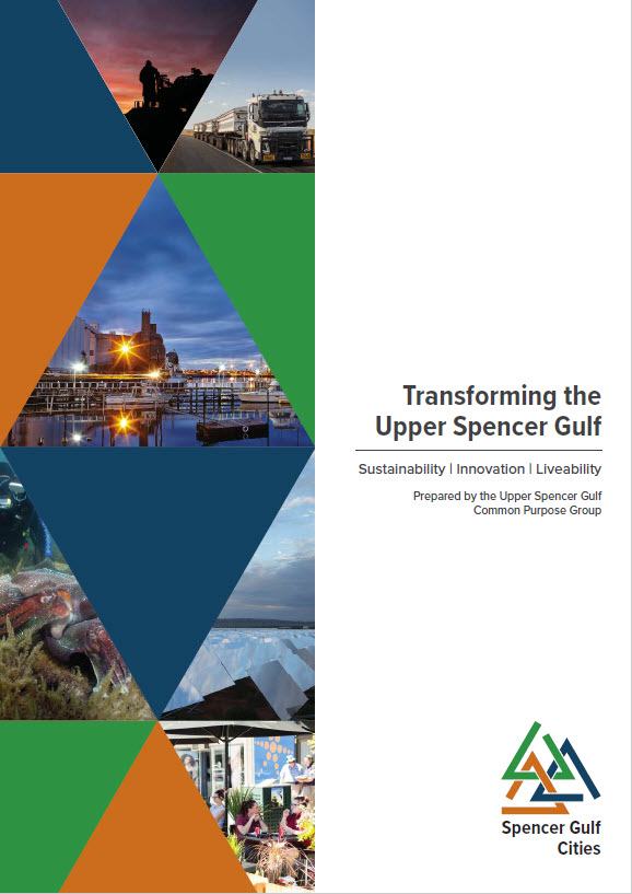 Transforming the Upper Spencer Gulf Cover